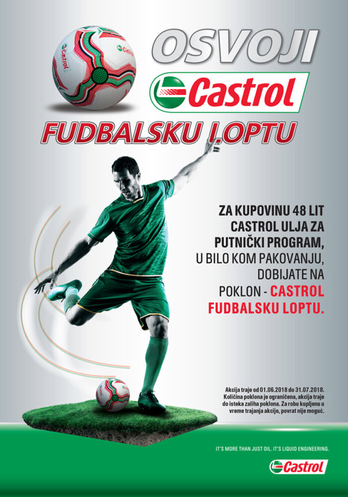 Castrol + lopta